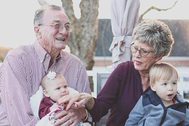 Retired grandparents