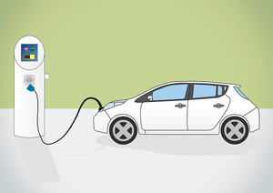 Charge point graphic